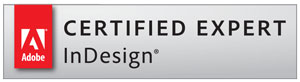 InDesign badge
