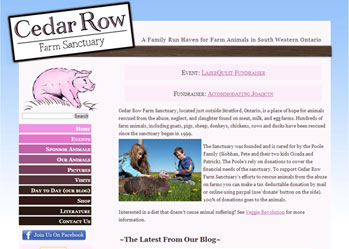 Cedar Row Website