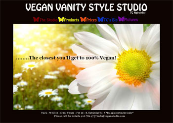 Vegan Vanity Website
